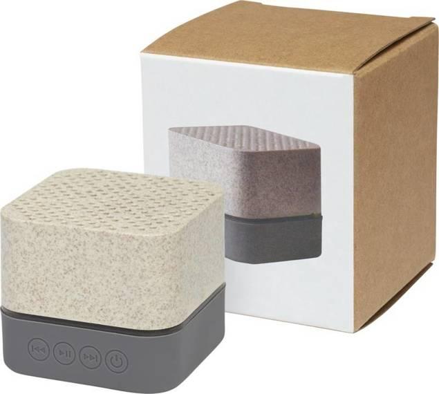 Głośnik Bluetooth® Aira ze słomy pszenicznej